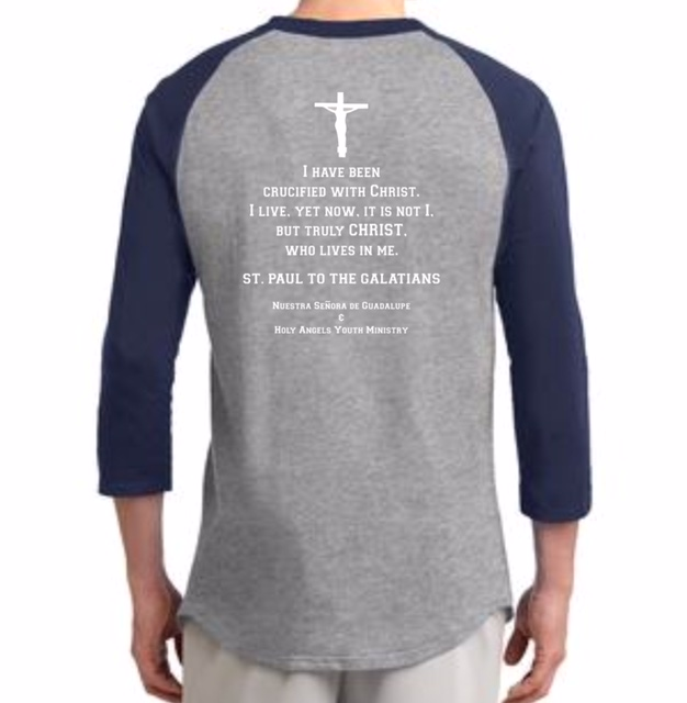back youth ministry fundraiser t-shirt